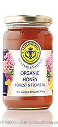 Organic forest and flowers Honey