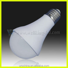 IP65 6.5w dimmable LED bulbs for Chicken growing sheds E27/E26