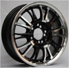 car alloy rims,color car rims ,black car rims