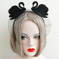MYLOVE swan headband for women Halloween party hair accessory MLFG11