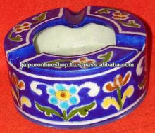Gift item brush paint handmade ashtray