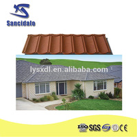Wanael CE high quality stone coated steel roof tile/korean tiles/aluzinc roof life-span 50years