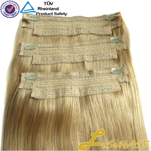 High Quality Double Drawn Remy Hair Attachment