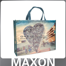 lovely printing reusable non woven tote bag made in china