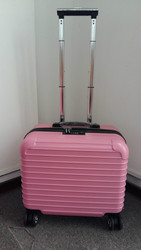 2015 Girl's ABS Pink Color Laptop Trolley Case