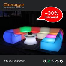 confortevole e 3062 3063 sezionale divano illuminato led