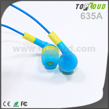 MP3 MP4 earphone cable winder LED light earphone spy