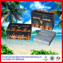 9*2.5*1.2cm shisha hookah uses of coconut shell charcoal