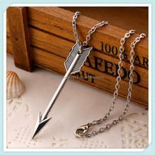 Fashion new arrival hotsale custom siver wholesale arrowhead pendants