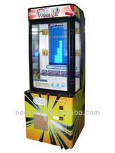 Brick Stacker ,coin operated machine , bill acceptor amusement game machine