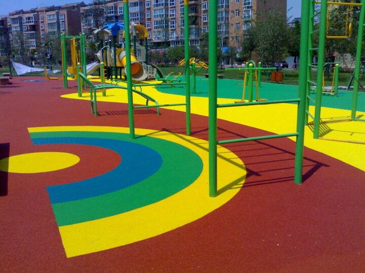 Kids Amusement Park Outdoor Playground Flooring Fn J 0319