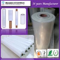 plastic wrap stretch film factory moistureproof anti-static self bonded