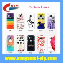 2015 Cute Cartoon Design Back Case Hard Cover For HTC One M9 Cell Phone