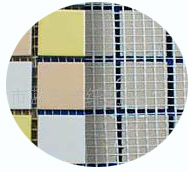 fiberglass mesh for paving glass mosaic tile ceramic