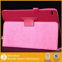 New Fashion Colorful Print Folio PU Leather with Stand Case for ipad 6