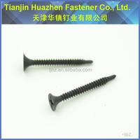 2015 China supply bugle self driling screw black phosphated