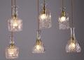 Vidrio de vino moderna diseño Industrial lámpara colgante / colgante iluminación para bar decoración