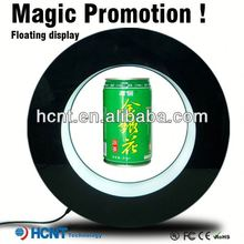 Most Attractive ! Magnetic Floating display stand for plastic bottle ,5 gallon pet bottle