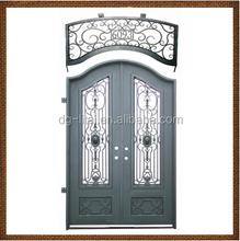 art wrought iron security doors/ wrought iron door