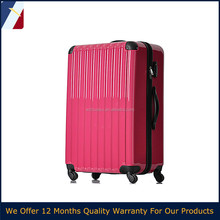 ABS+PC new japan design polycarbonate case luggage with colourful case in 2015