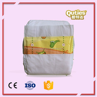 Summer Breathable Film Baby Fine Plastic Diaper with Prints