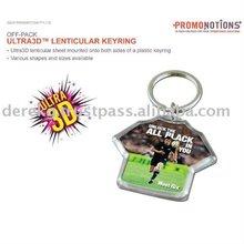 Ultra3D Lenticular Key Chain