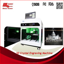 3D printer engine, for 3D crystal photo ,key chains, graduated souvenirs// HOLY LASER