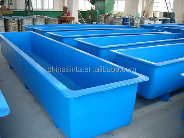 Plastic tank for fish farming images for Plastic fish tank