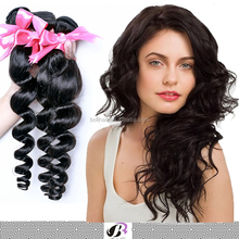 Factory wholesale virgin remy 7A 100 human hair brazilian loose wave virgin hair
