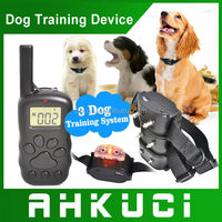 300M Distance LCD Display Rechargeable High Quality Waterproof Dog Electric Shocker Collar