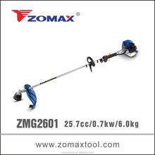 garden tools 25.7cc 2 stroke ZMG2601 higt branch cutter for grass pruning