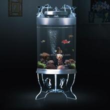 oem design acrylic fish farming tank
