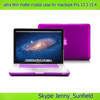 New color ultra thin matte crystal case for macbook pro retina 13.3 15.4 , for macbook pro crystal case matte