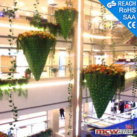 Large artificial decorative tree/flower/ball, shopping mall decoration