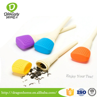 New painting brush silicone tea infuser