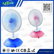 2014 new design electric portable 6 inch table fan specifications