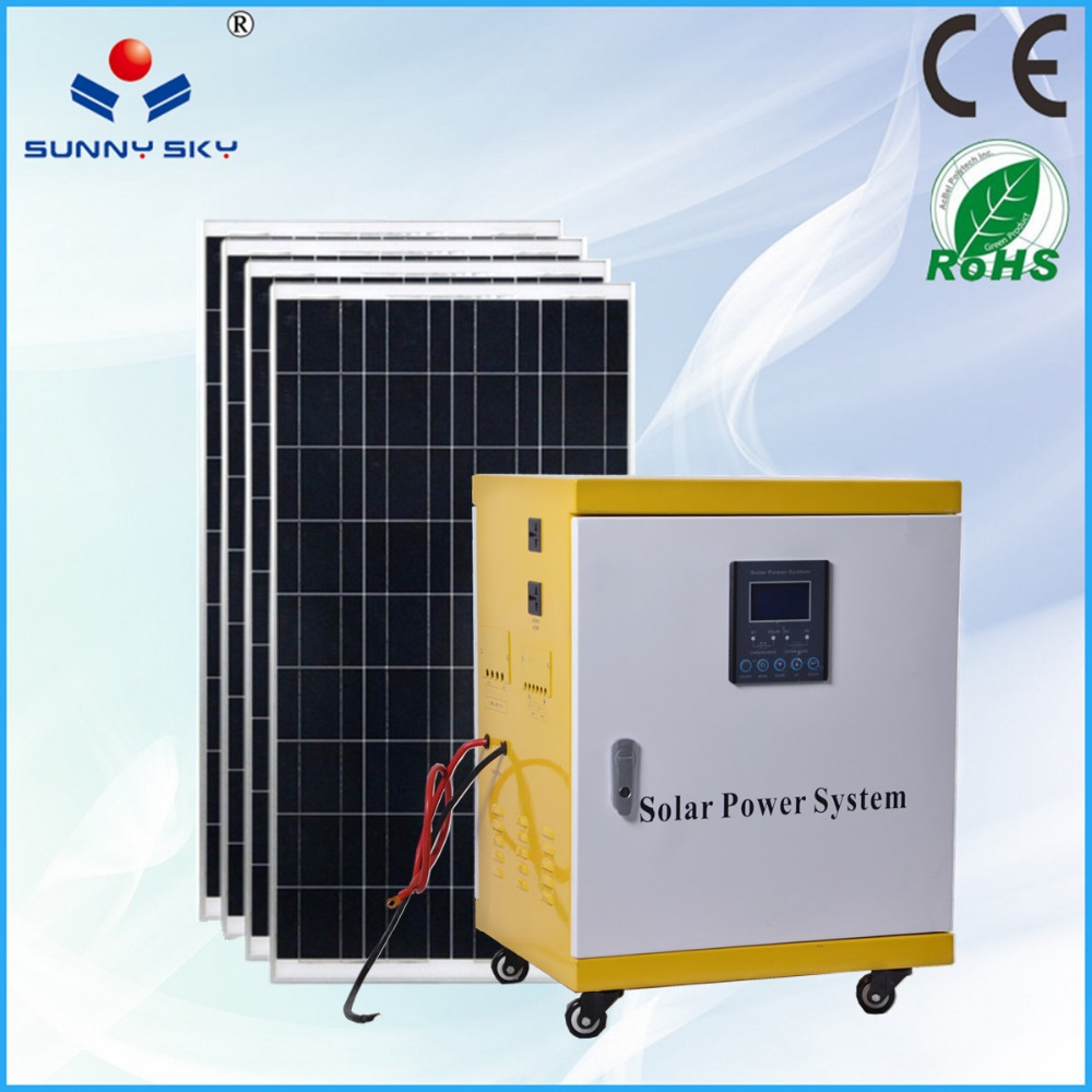 grid 5kw Home Solar System Solar Generator 5000 Watt Whole House Solar ...