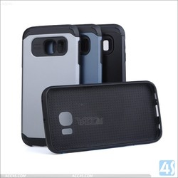 For samsung s6 edge case cover hybrid matte color rugged cases covers luxury phone cover for samsung s6