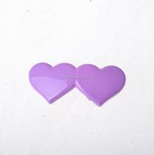 Kids Children Vintage Lavender Pink Cute Shinny Plastic Hair Clip
