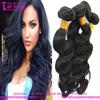 Wholesale 100 unprocessed body wave darling hair ectension no shedding cheap darling hair weaving