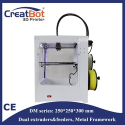Precise Cost effective!creatbot 3d printers/ 3d printing machine for phone case, plastic DM02029