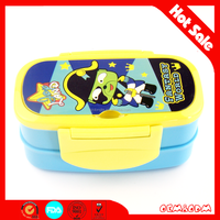 cartoon lunch box kids fashional lunch box plastic lunch box container