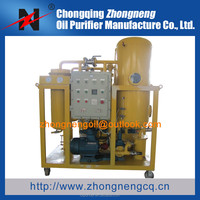 Zhongneng Technology Industrial Aged Turbine Oil Cleaning Machine