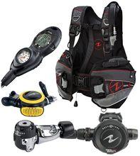 FOR NEW Aqua Lung Pro LT BC, Zoop Dive Computer, Scuba Regulator Package