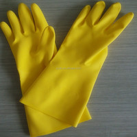 YJ-M10 Home Cleaning Rubber Latex Hand Protection Gloves(Rubber Latex Gloves)