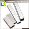 Flat rectanglar 316 409 304L stainless steel tube 304L