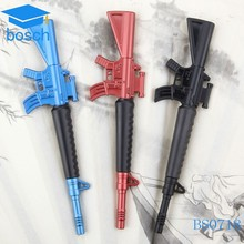 Logo Printing Advertising plastic ballpoint pen low price pen gun