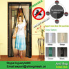 Have18 Powerful Magnets Magnetic Screen Door Mosquito Net