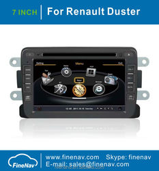 7Inch Touch Screen Car Radio For Renault Duster With GPS Navigation A8 Chipset 3G Wifi BT 20 Dics Playing Free Map