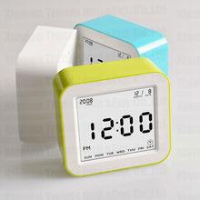 four sides Auto flip clock, innovative alarm clocks with light senor